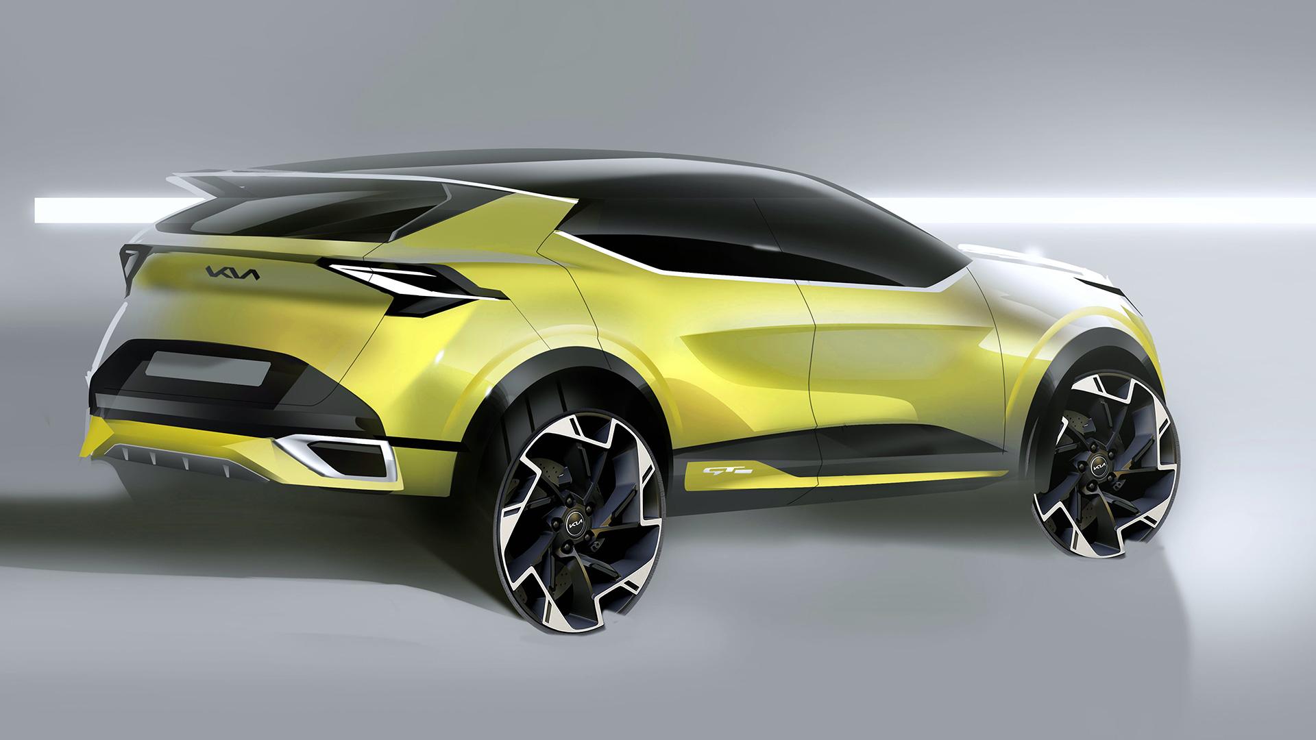 Kia revela primeiros esboços da versão europeia do novo Sportage 16