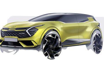 Kia revela primeiros esboços da versão europeia do novo Sportage 24