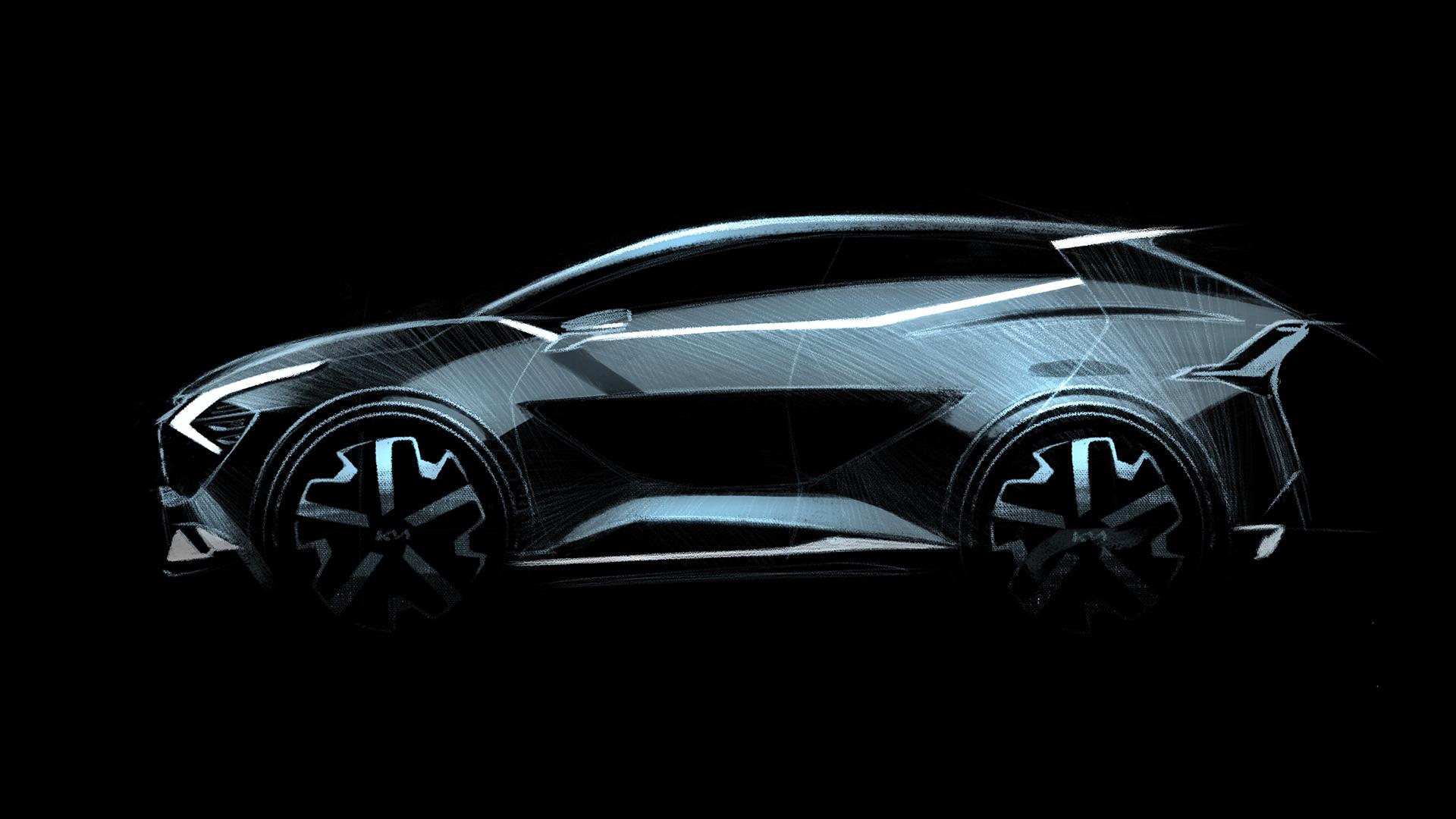 Kia revela primeiros esboços da versão europeia do novo Sportage 18