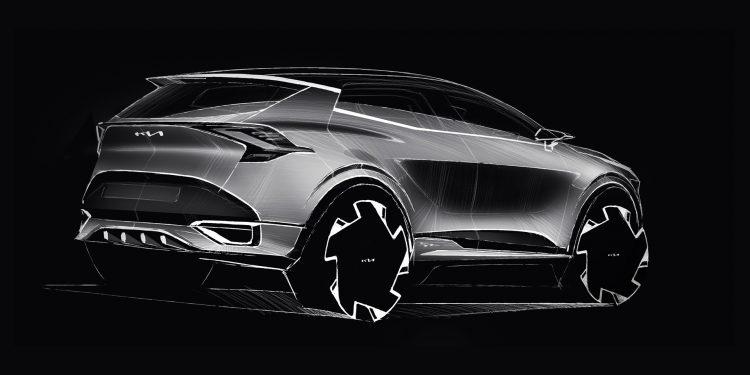 Kia revela primeiros esboços da versão europeia do novo Sportage 19