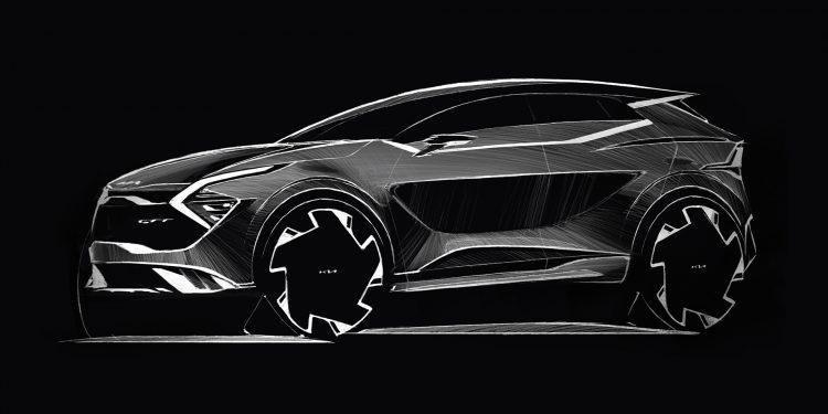 Kia revela primeiros esboços da versão europeia do novo Sportage 20
