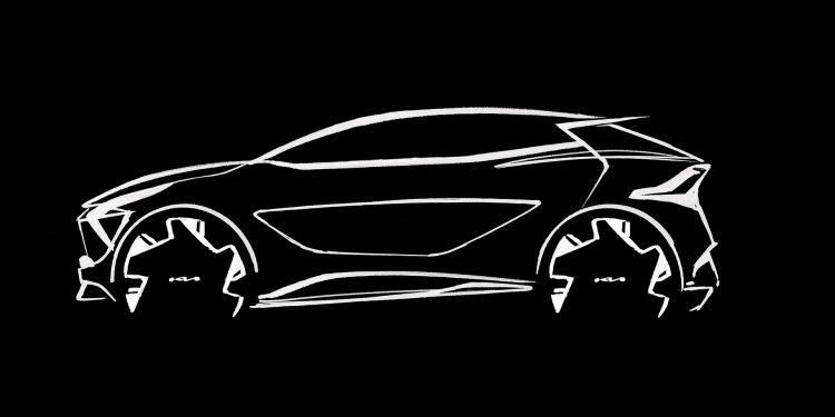 Kia revela primeiros esboços da versão europeia do novo Sportage 21