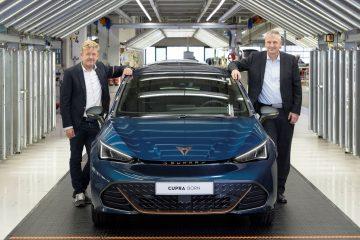 CUPRA inicia uma nova era com a produção do seu primeiro carro 100% elétrico: o CUPRA Born 19
