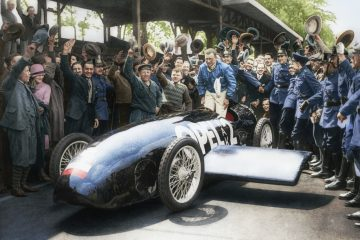 Há 100 anos: Opel vence corrida inaugural de Avus 21