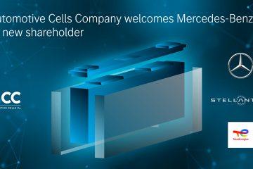 Stellantis e TotalEnergies acolhem a Mercedes-Benz como novo sócio da Automotive Cells Company 30
