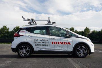 Honda inicia programa de testes para o lançamento de um serviço de mobilidade de veículos autónomos 16