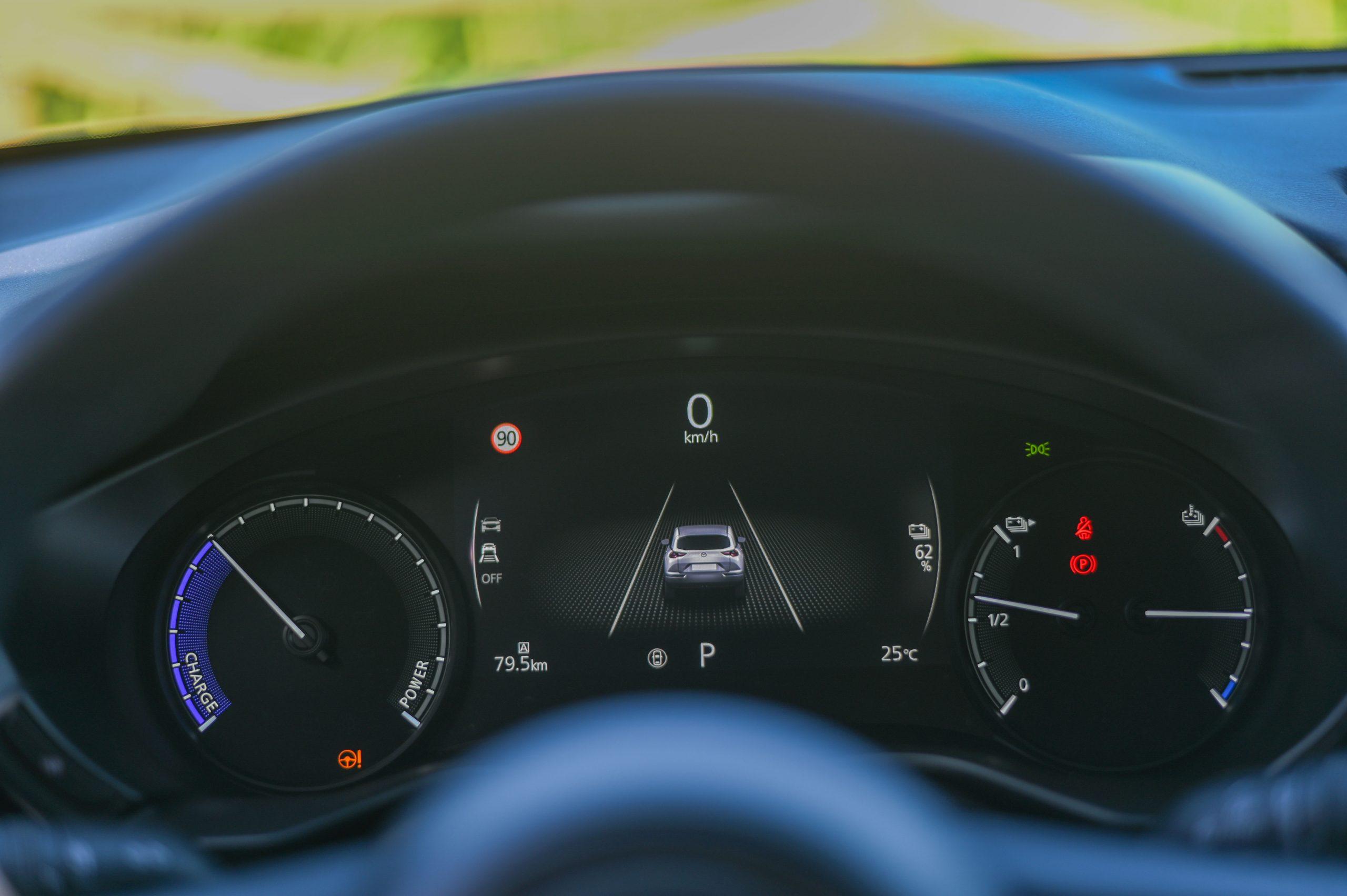 MAZDA MX-30 e-Skyactiv Excellence Plus: Um elétrico para quem gosta de conduzir! 38
