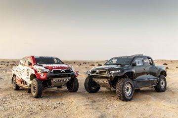 TOYOTA GAZOO Racing confirma quatro Hilux e nova TOYOTA GR DKR HILUX T1+ para o Dakar 2022 55