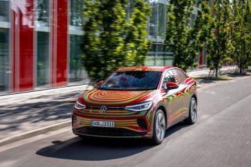 SUV coupé VW ID.5 GTX no IAA de Munique ainda como um concept car 18