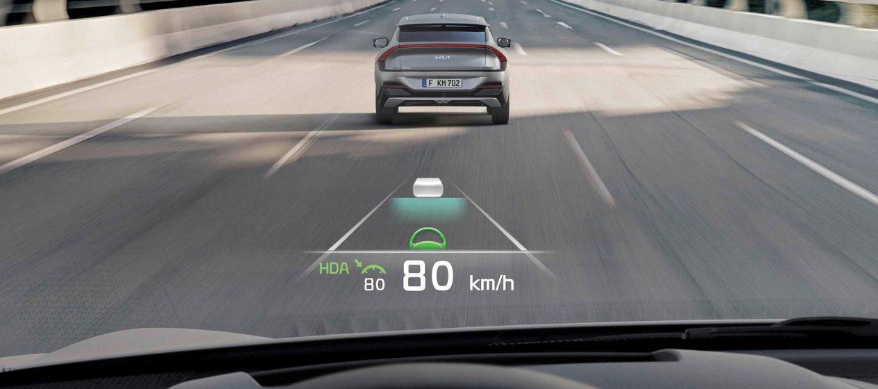 Novo Kia EV6 oferece níveis de segurança e comodidade de vanguarda 25