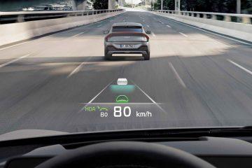 Novo Kia EV6 oferece níveis de segurança e comodidade de vanguarda 21