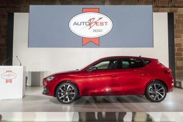 "SEAT Leon recebe prémio ""Best Buy Car of Europe 2021""na Gala AUTOBEST 18"