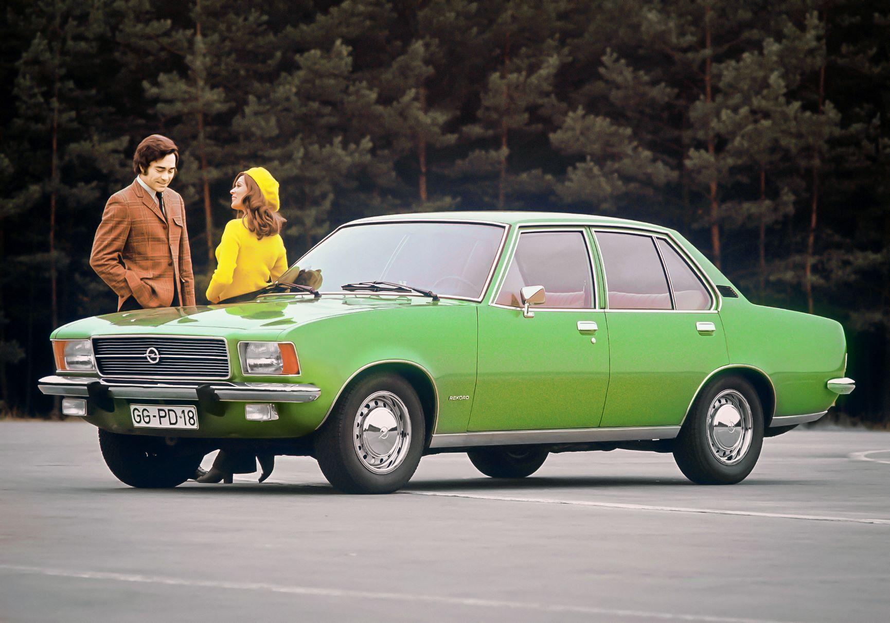 Opel Rekord D modelo emblemático de Rüsselsheim celebra 50 anos 13