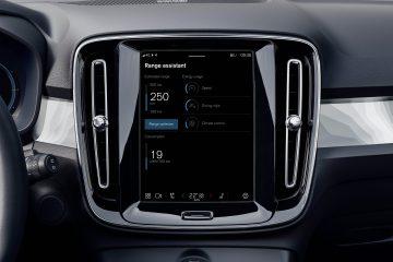 Nova app no infotainment Volvo aumenta autonomia dos seus modelos elétricos 14