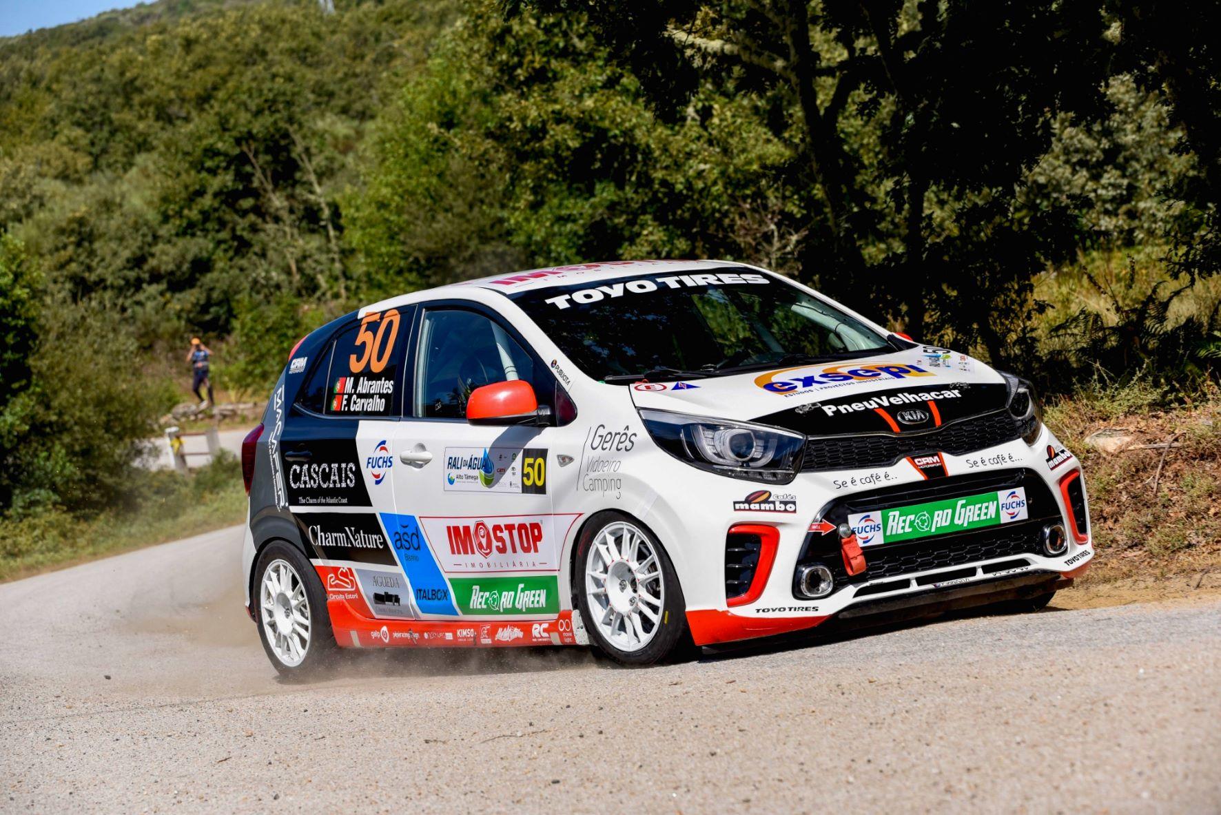 Rali do Vidreiro acolhe regresso do Rio e última jornada do Kia Rally Cup 19