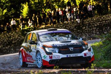Gil Antunes em 'modo espetáculo' no Rally de Lisboa 15