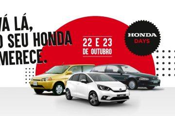 HONDA DAYS: 22 e 23 de outubro com ofertas e vantagens exclusivas 2