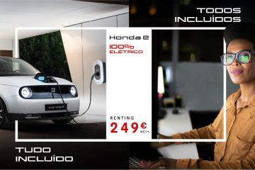 Honda e encontra-se disponível com uma solução de renting por apenas 249€ mês 15